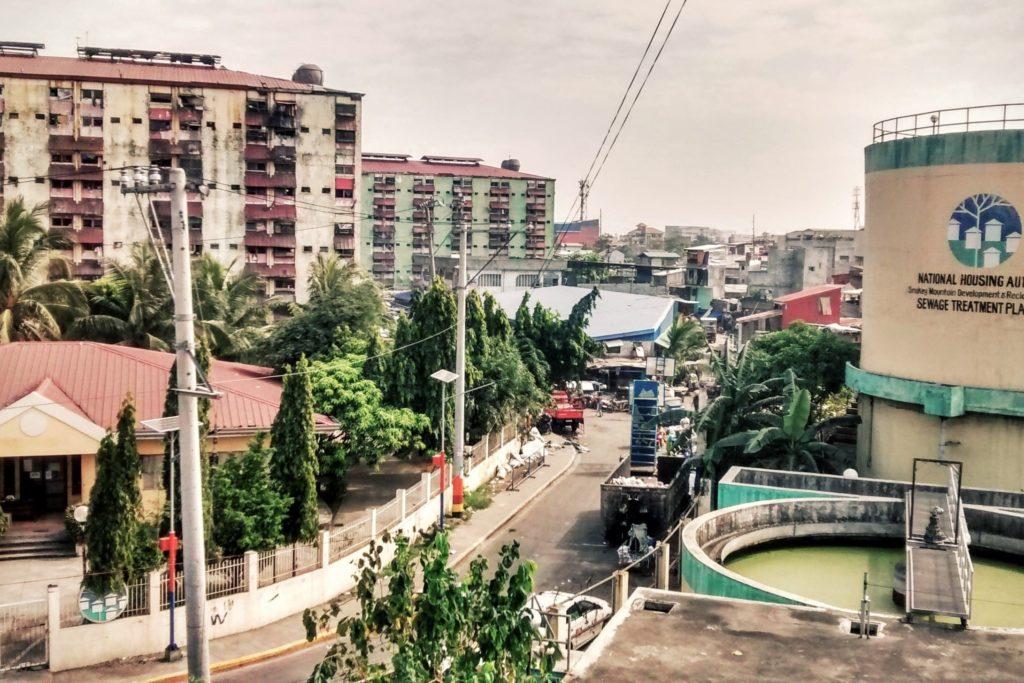 Sewage treatment plant in Manila